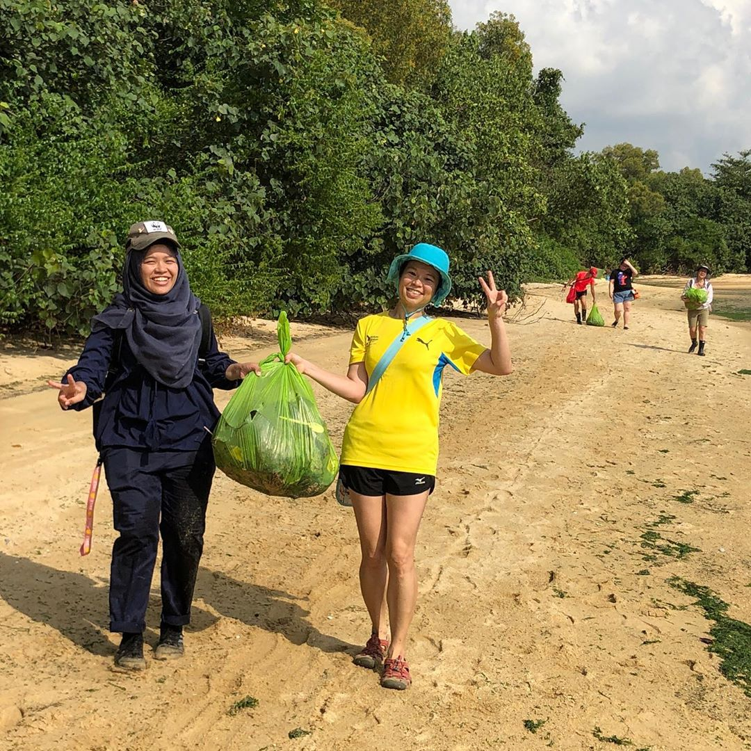 Cleanup groups to join in Singapore Green Nudge