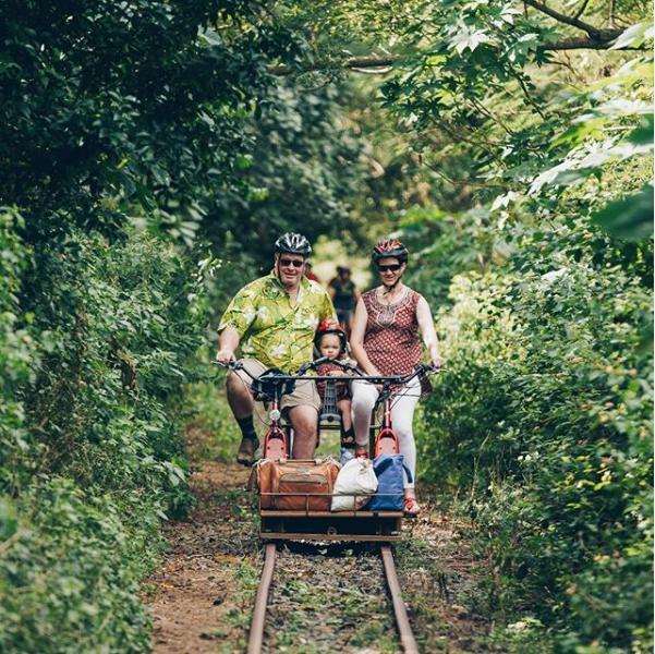 Things to do in Fiji railway bike