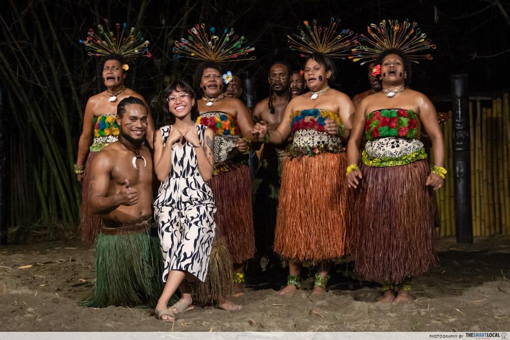 Things to do in Fiji Meke dance