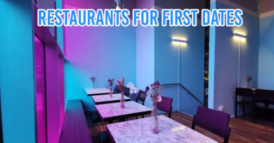Restaurants for first date