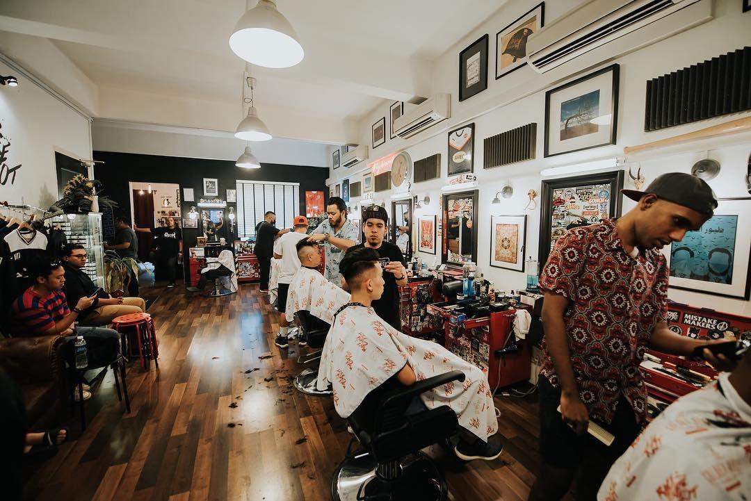 Gentlemen's Barber The Golden Rule Barber Co.