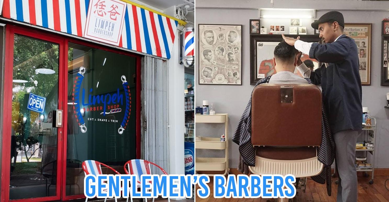 Gentlemen's barbers in Singapore