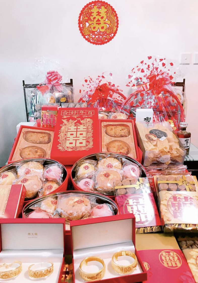 betrothal ceremony gifts