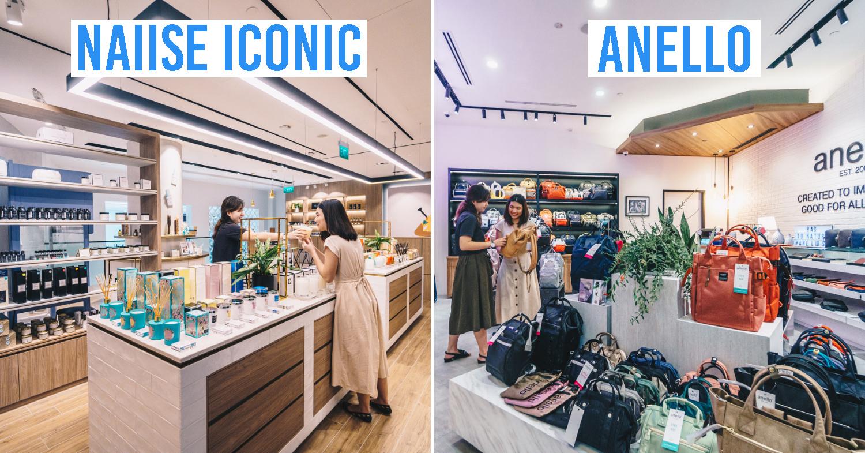 Jewel Changi airport shops