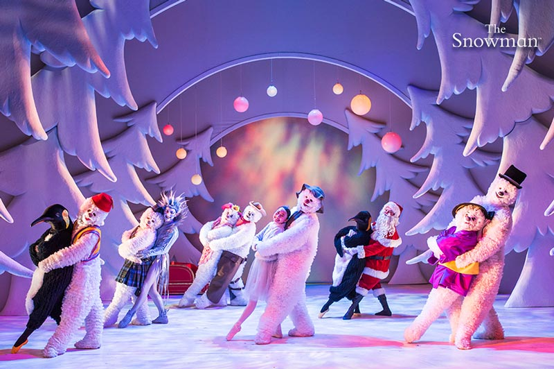 the snowman dance and cast