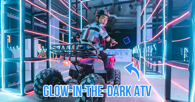 KINEX mall Neon ATV cover