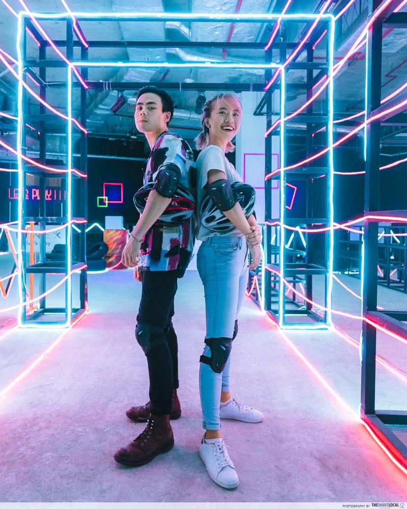 indoor Neon Light ATV Circuit KINEX