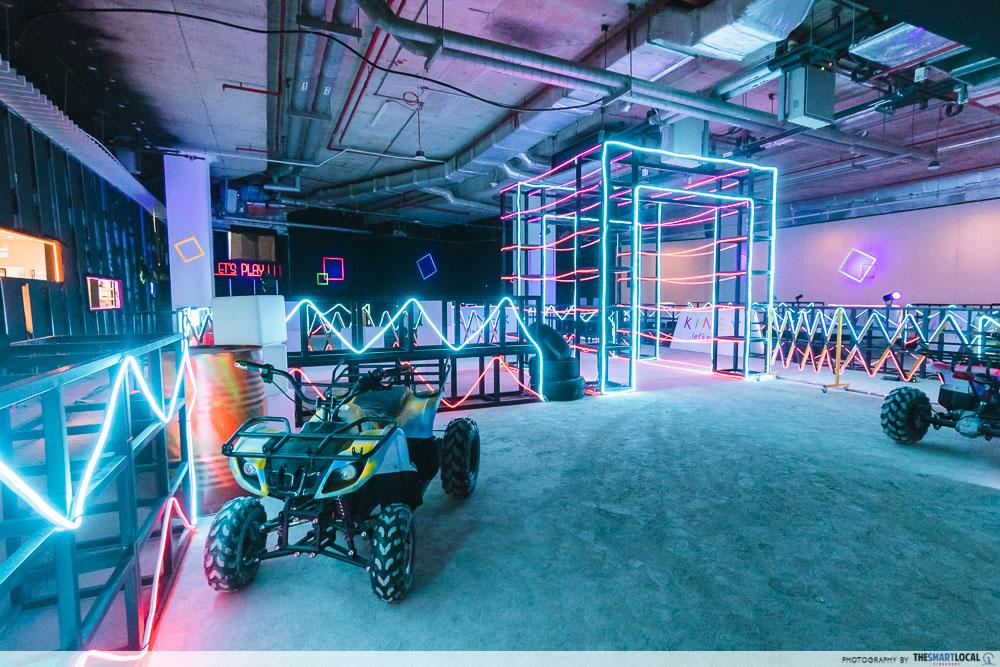 indoor Neon Light ATV Circuit