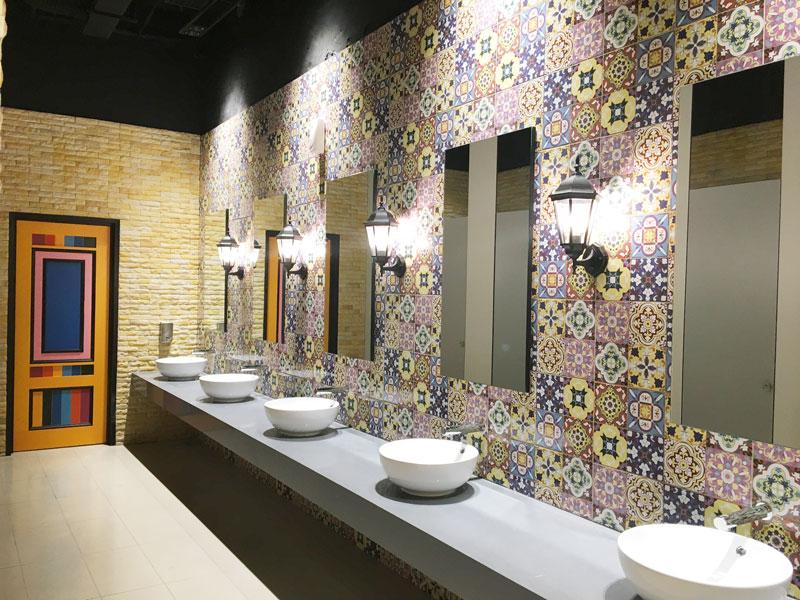 KL Gateway Mall washroom