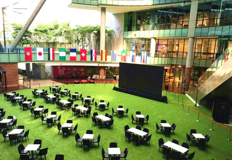 KL Gateway Mall atrium