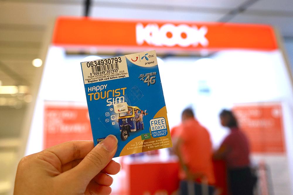 Klook Travel Festival 2019 Singapore SIM Card