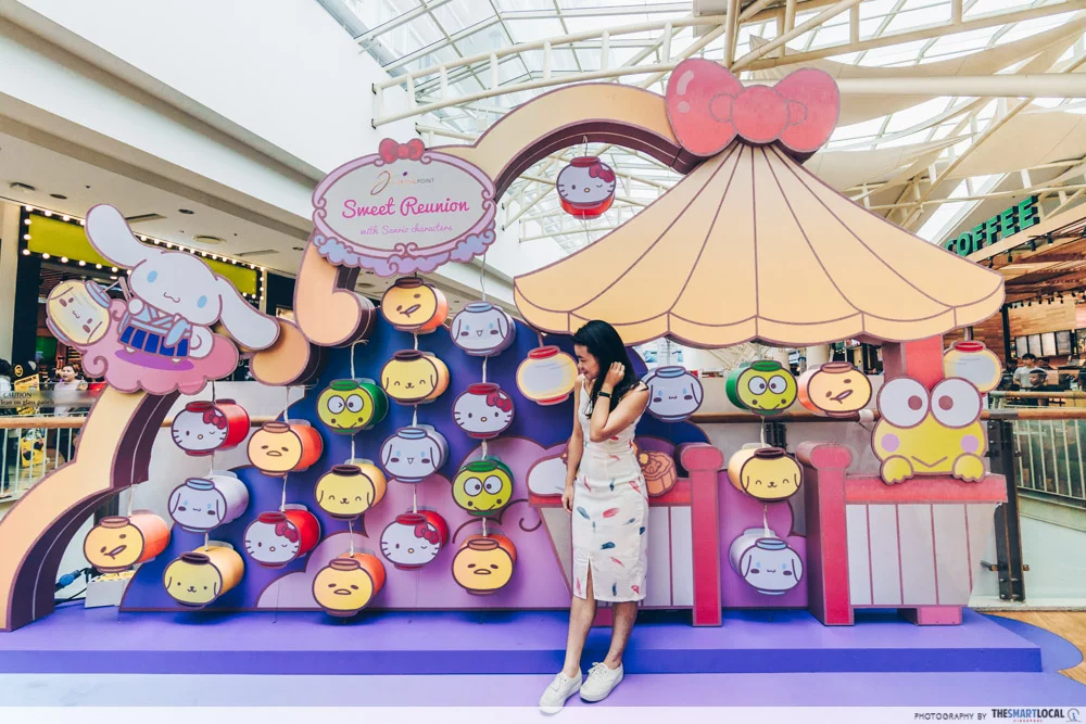 Mid-Autumn events Jurong Point Sanrio