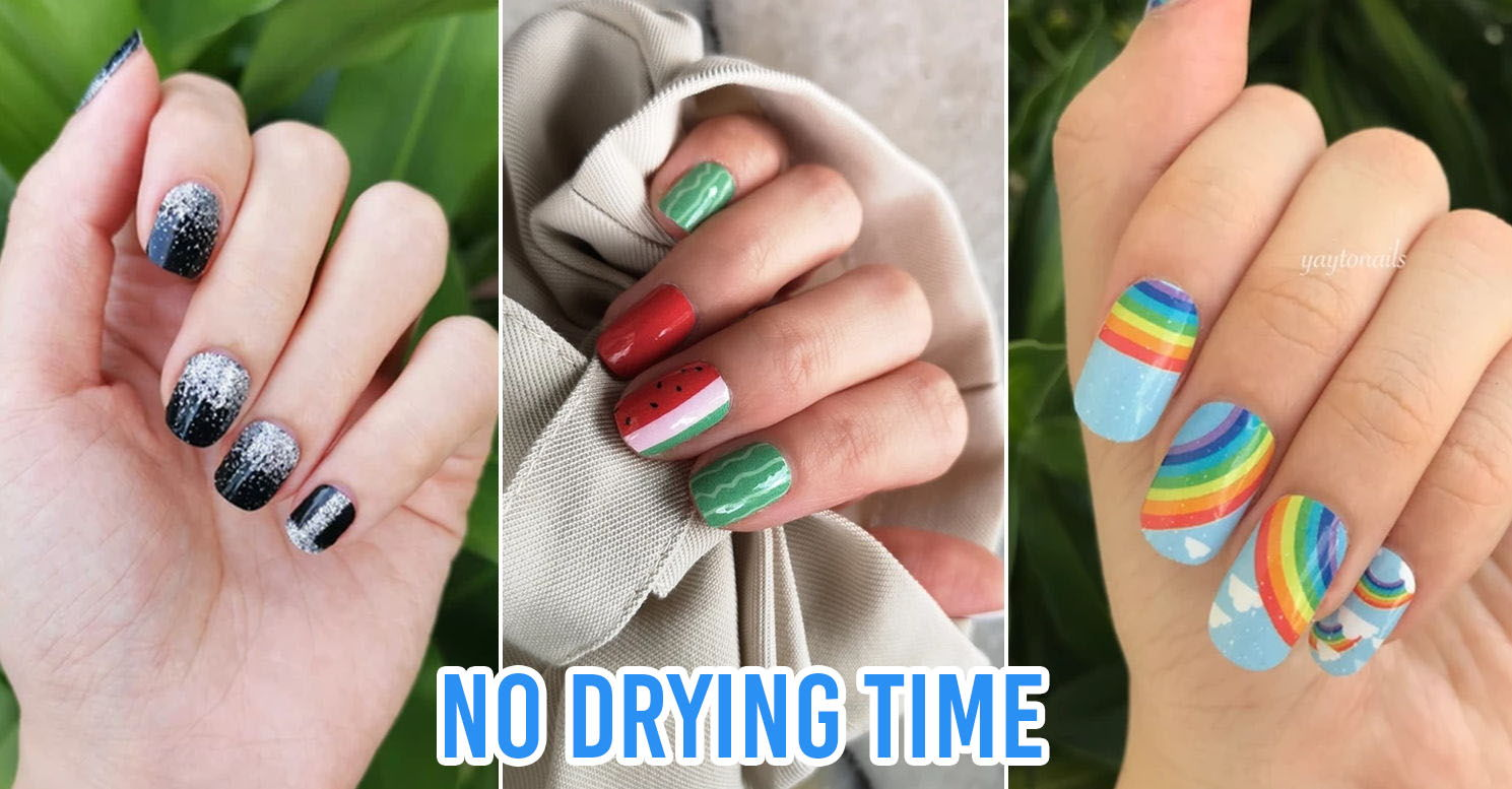 7 Nail Wrap Brands In Singapore For Easy Diy Manicures With
