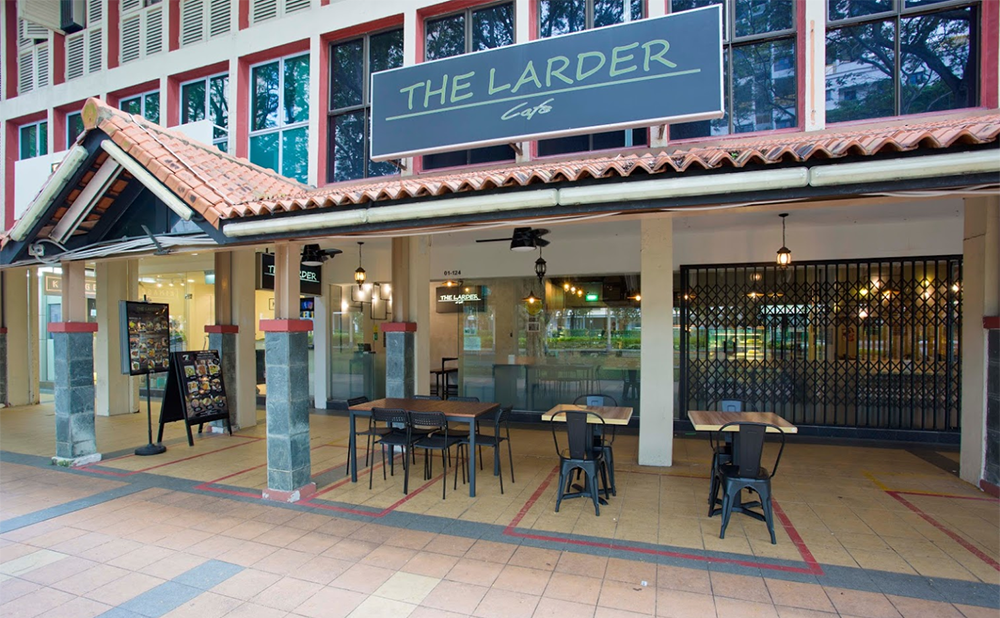 Neighbourhood Cafes Restaurants Singapore Larder Toa Payoh