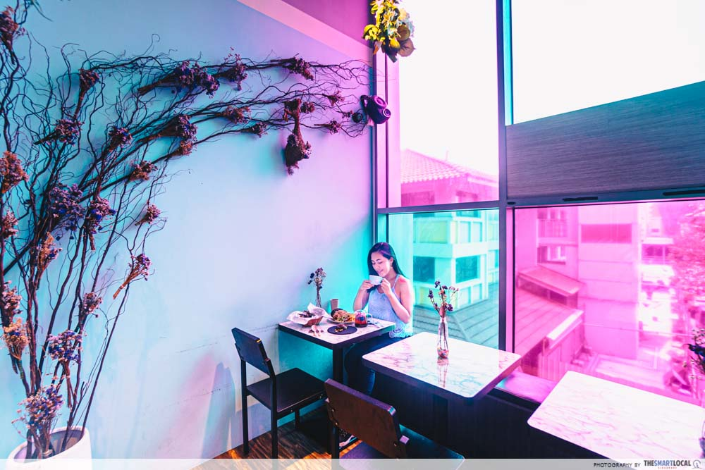 Neighbourhood Cafes Restaurants Singapore Hougang Wild Blooms