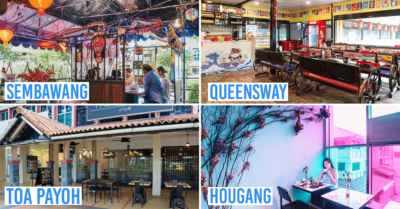 Neighbourhood Cafes Restaurants Singapore North South East West Central