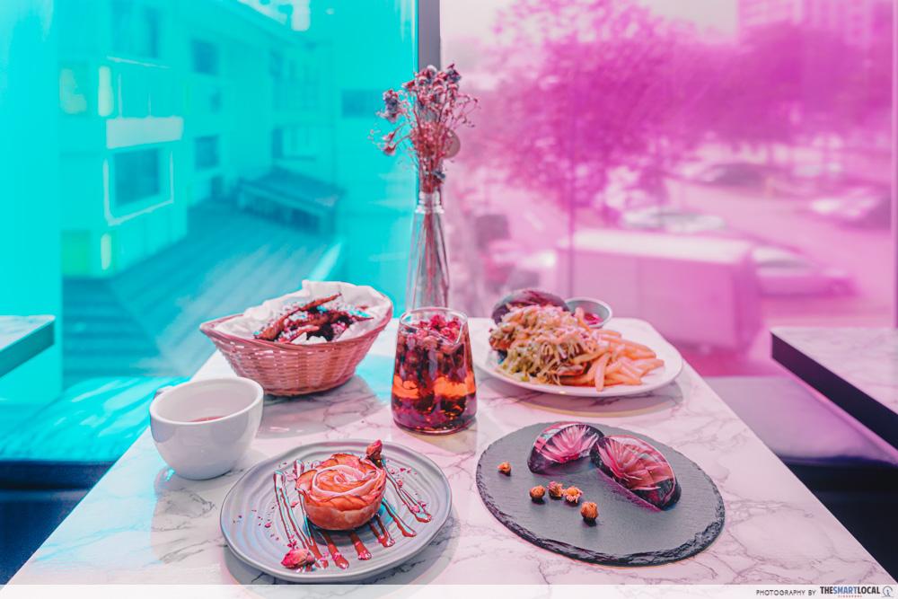 Neighbourhood Cafes Restaurants Singapore Wild Blooms