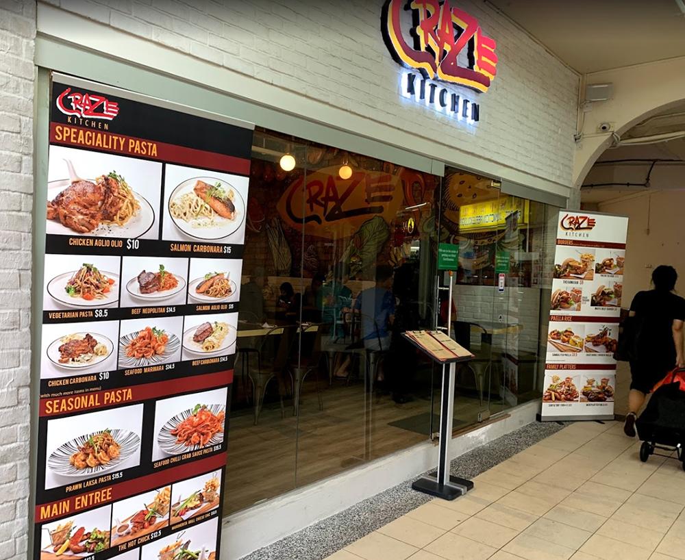 Neighbourhood Cafes Restaurants Singapore Craze Kitchen