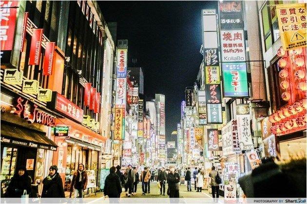 Popular travel destination - Tokyo