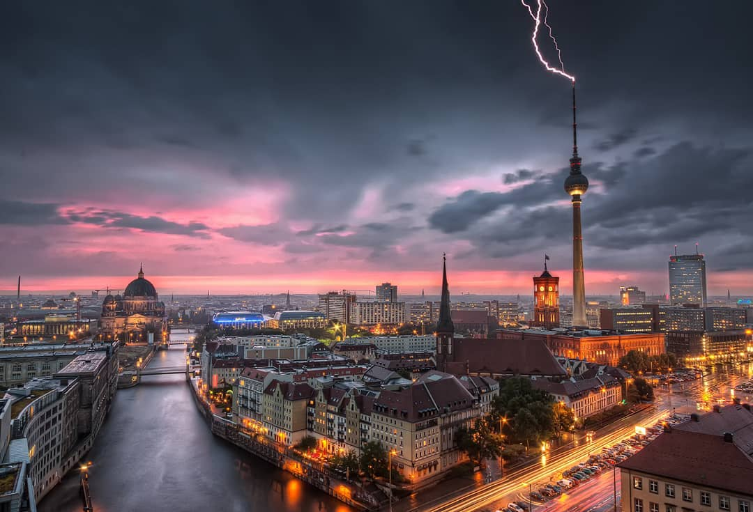 Popular travel destination - Berlin