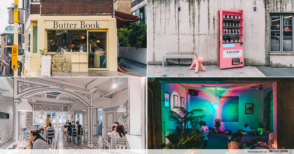 Themed cafes Seoul