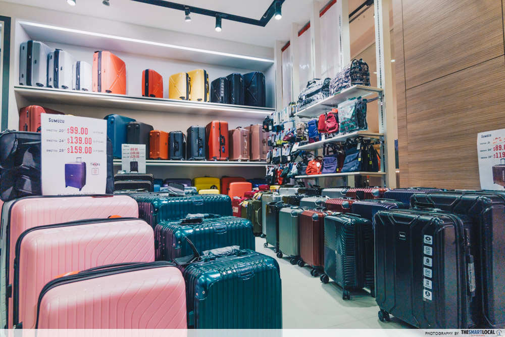 winter time sale luggage