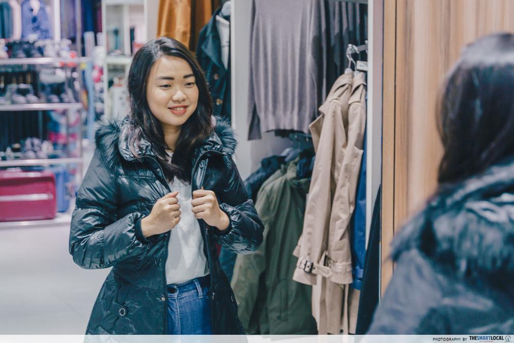 Ladies Polyester Down Jacket ($35)