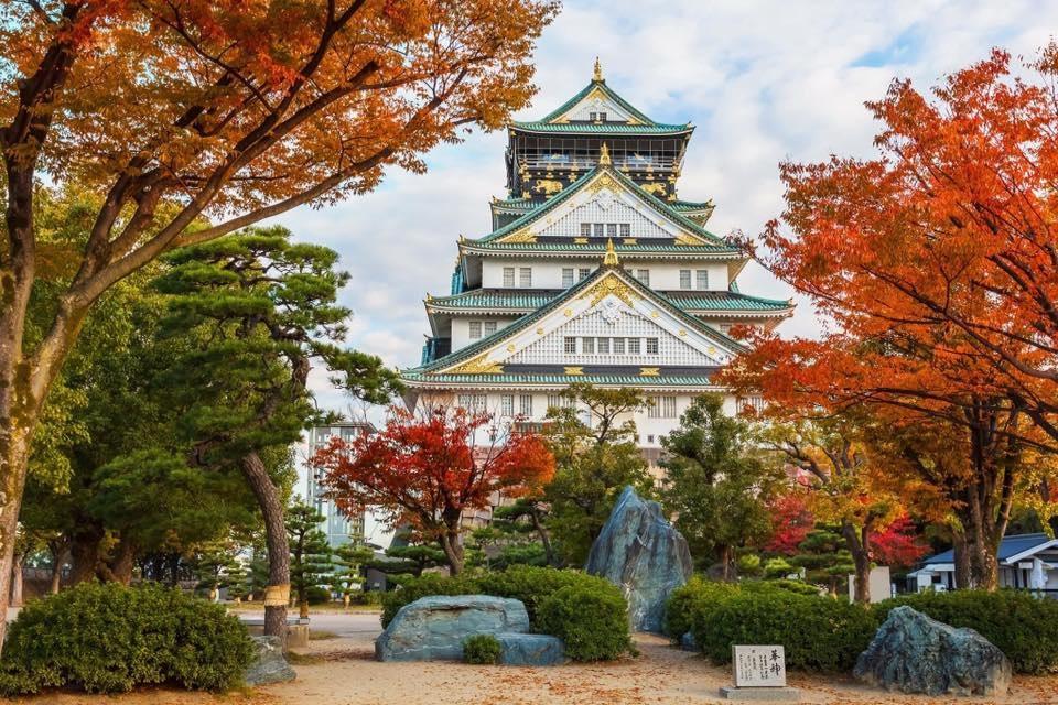 Autumn Japan 2019 osaka castle