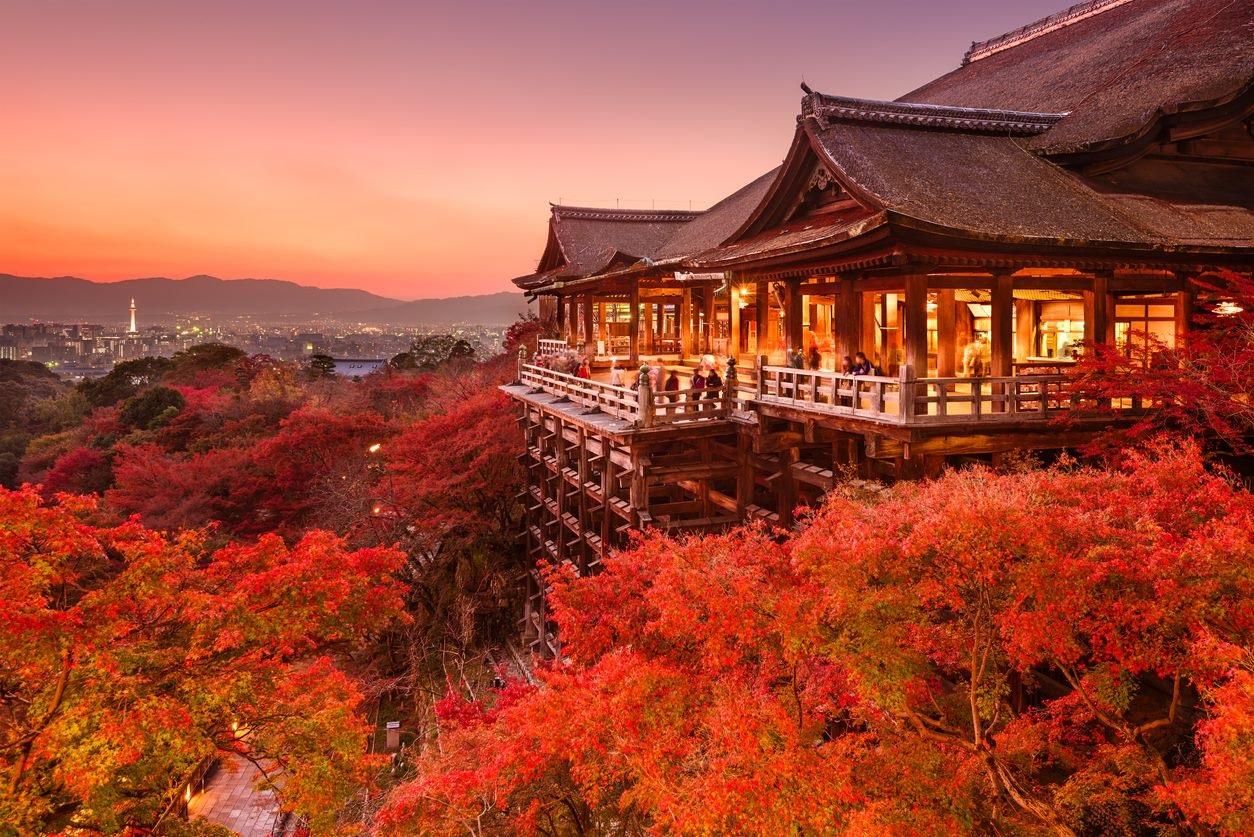 Autumn Japan 2019 kiyomizudera temple