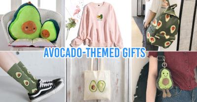 avocado-themed items