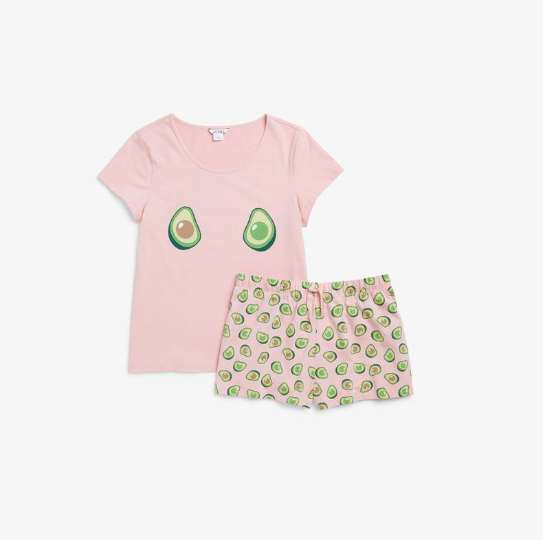 avocado t-shirt & shorts