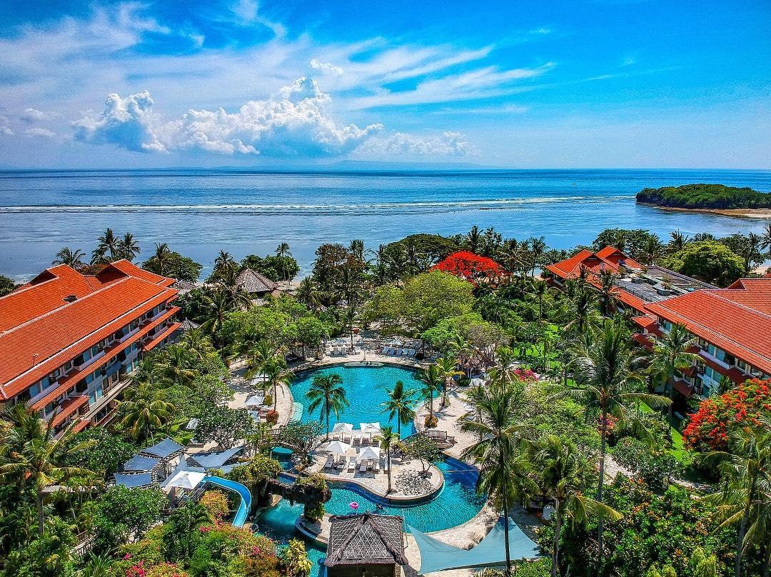 bali luxury hotels - the westin resort nusa dua, bali