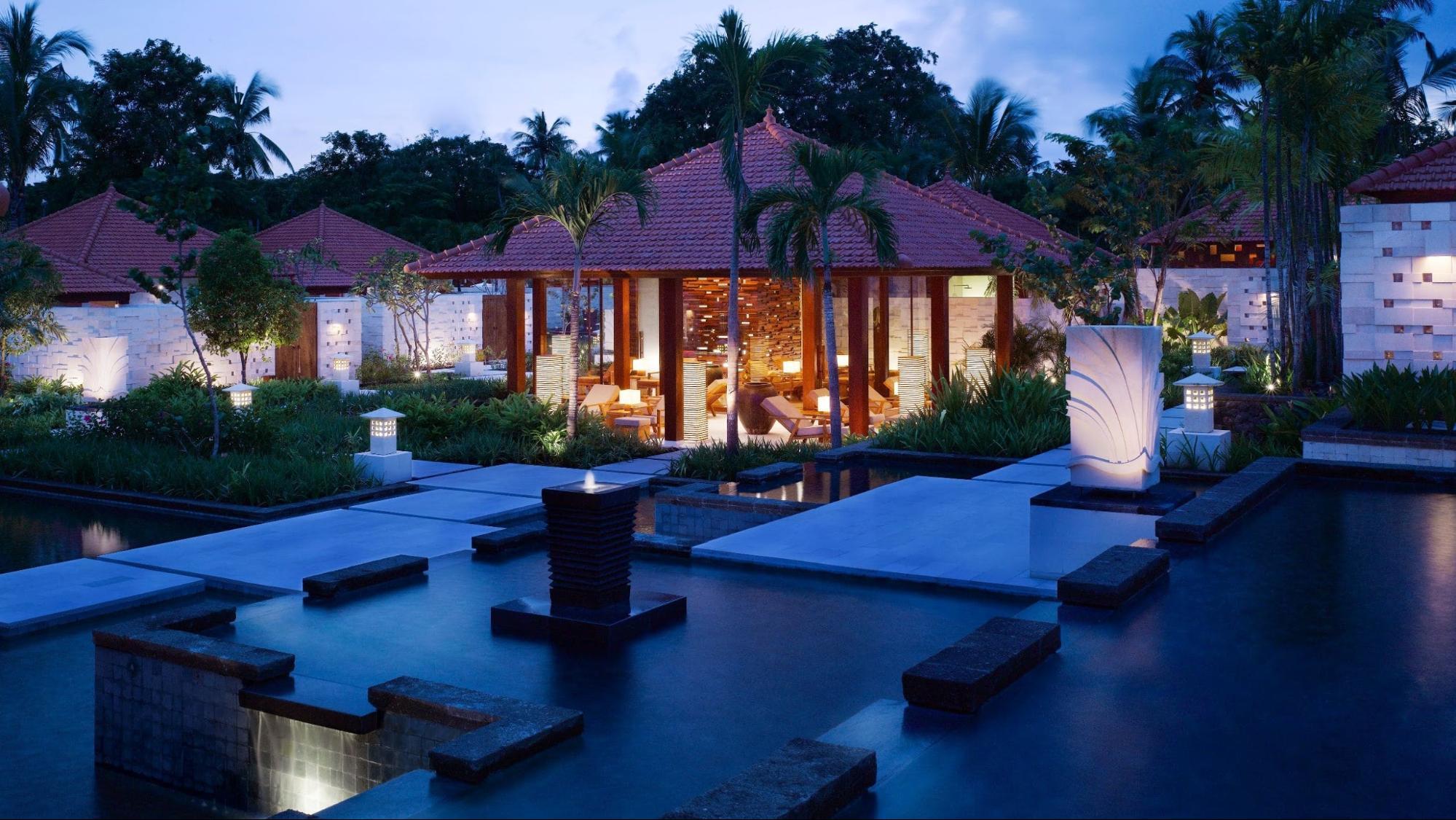 bali luxury hotels - grand hyatt bali kriya spa