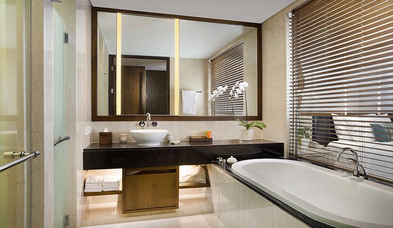 bali luxury hotels - conrad bali bathroom