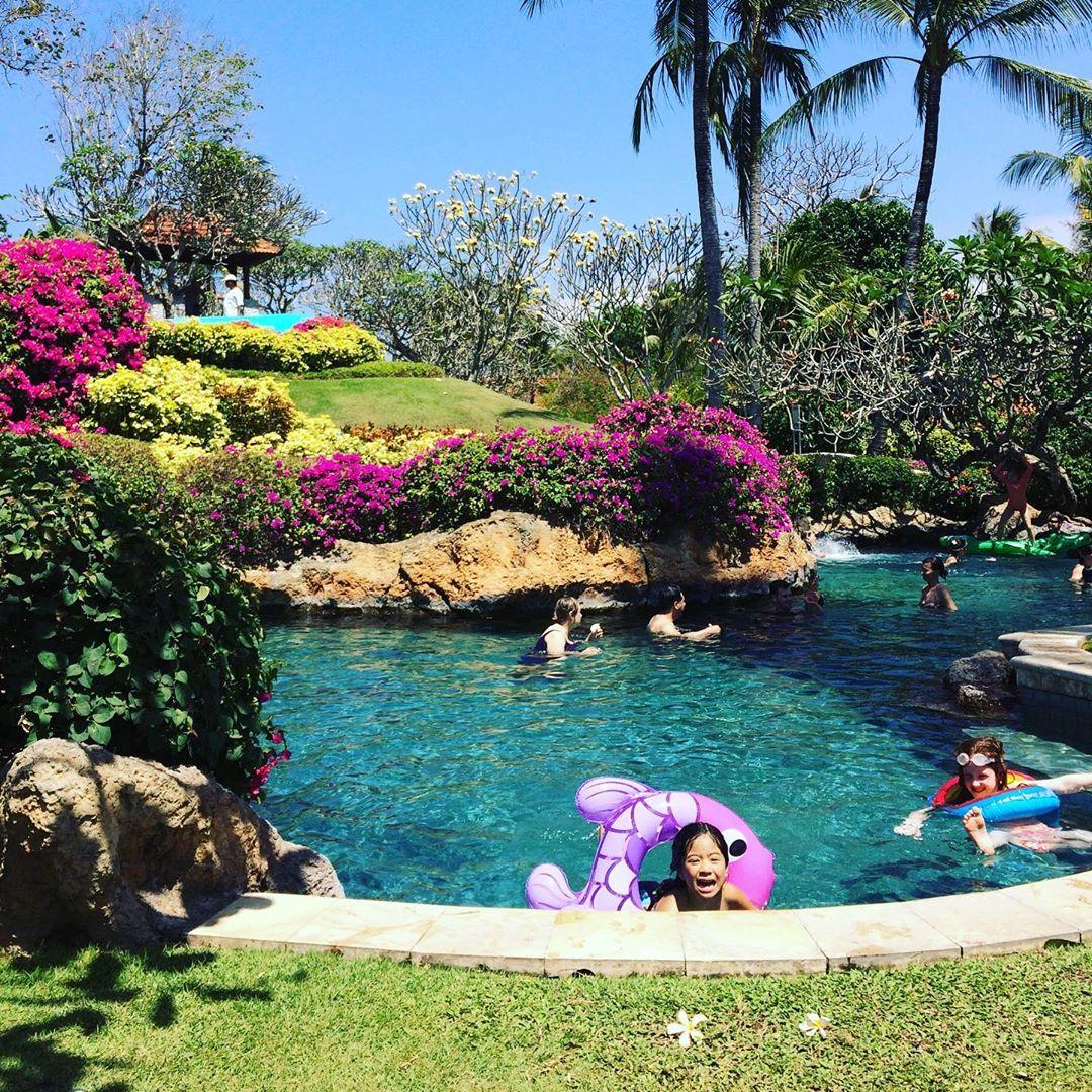 bali luxury hotels - grand hyatt bali river pool