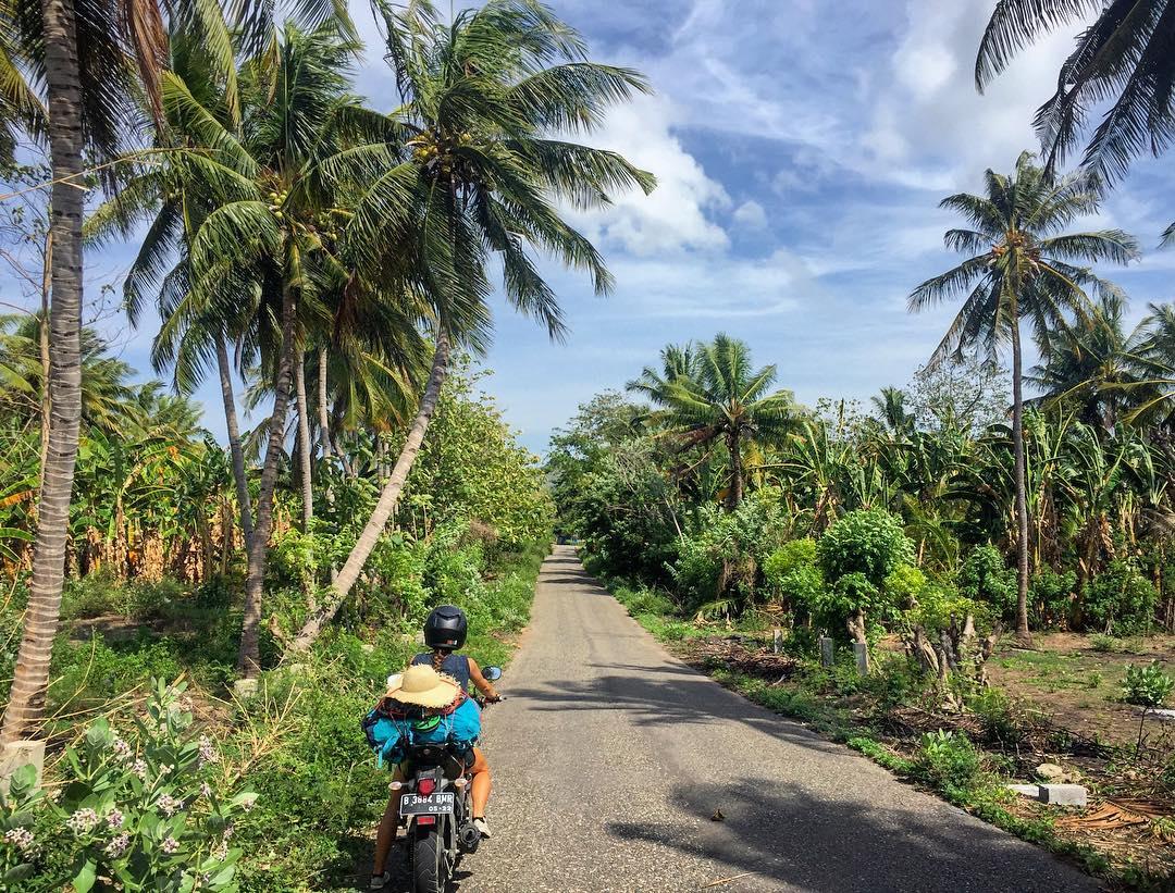 bali travel scams damaged bike