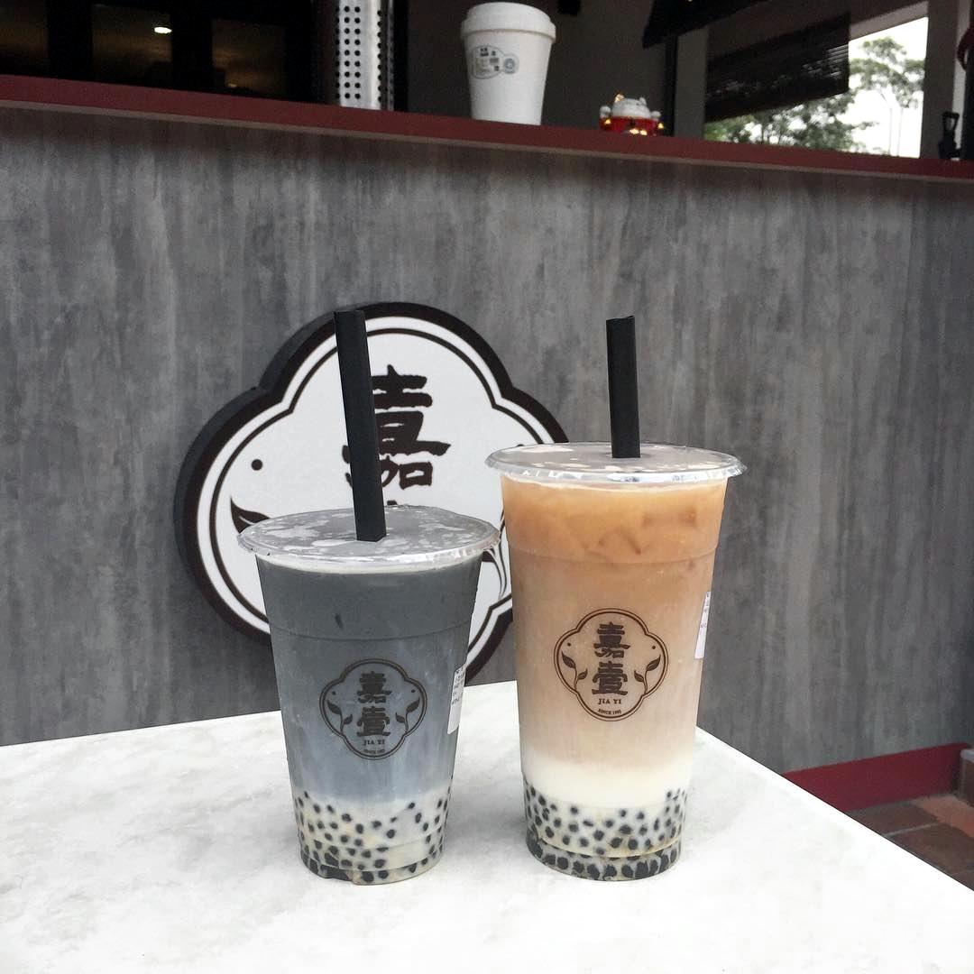 bubble tea cafe in jb - jiayi milk tea or plus one tea