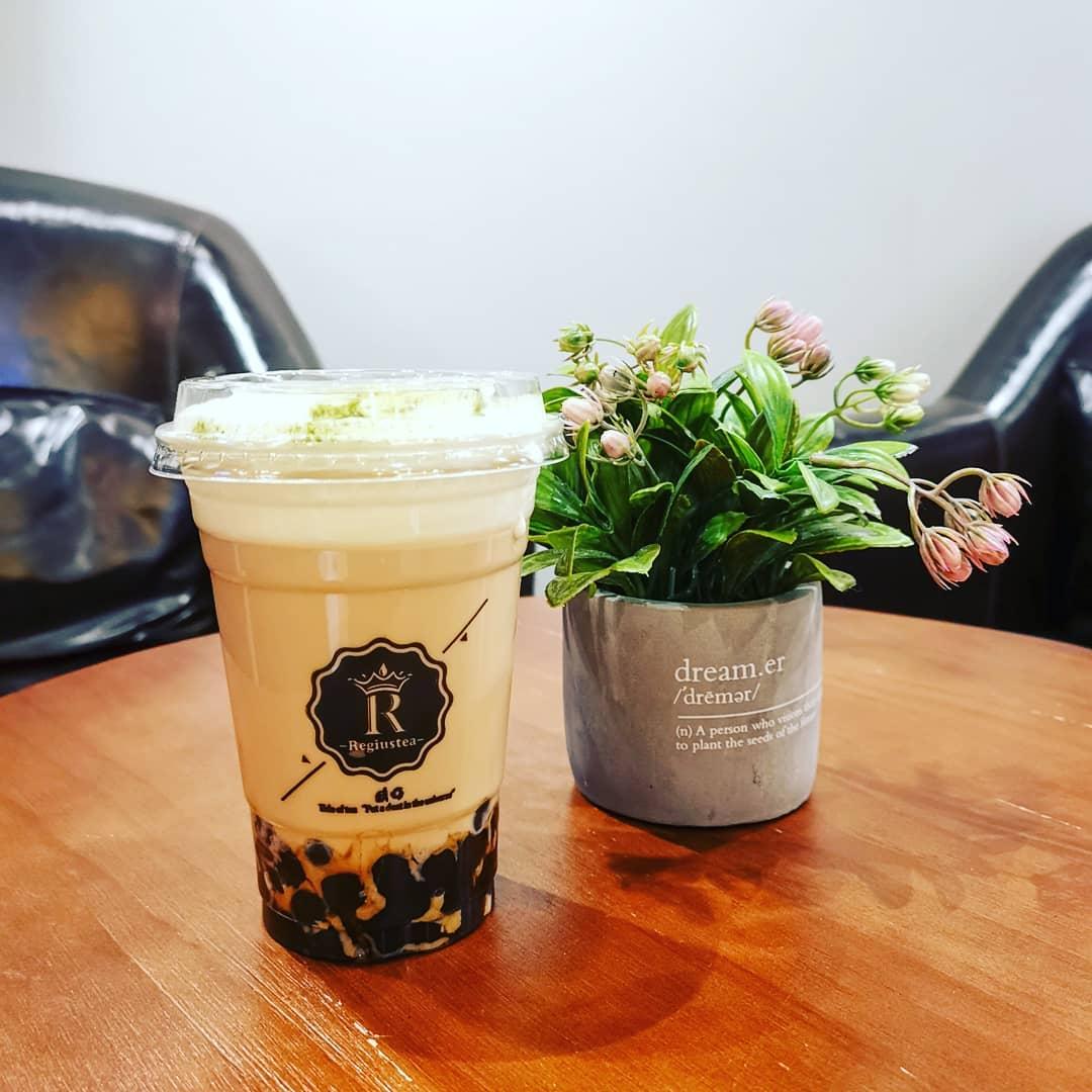 bubble tea cafe in jb - regiustea