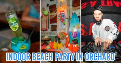 Emerald Hill beach party