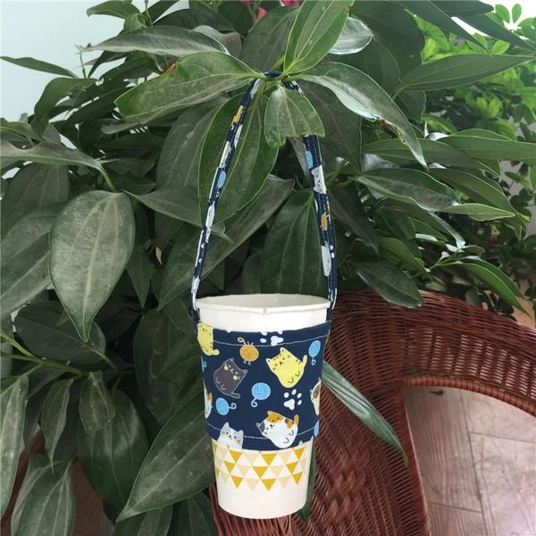 eco-friendly bubble tea cup holder