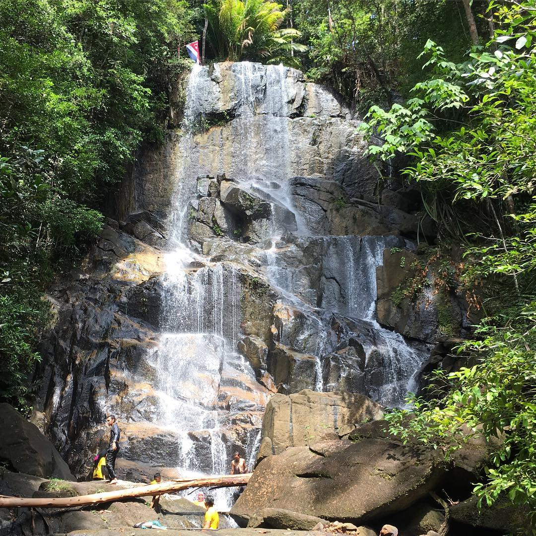 team bonding johor bahru tengkil waterfall