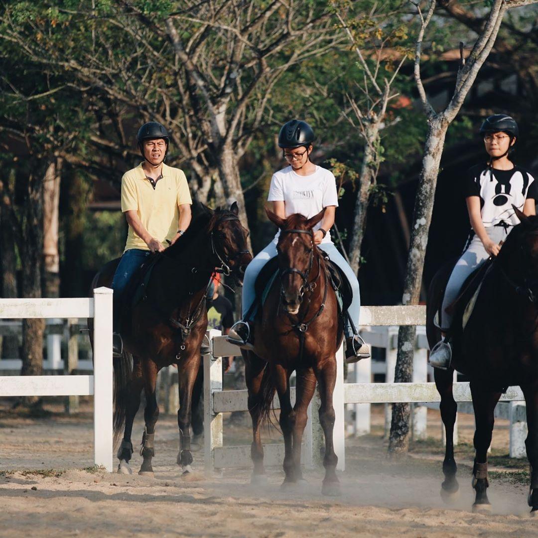 team bonding johor bahru horse valley academy