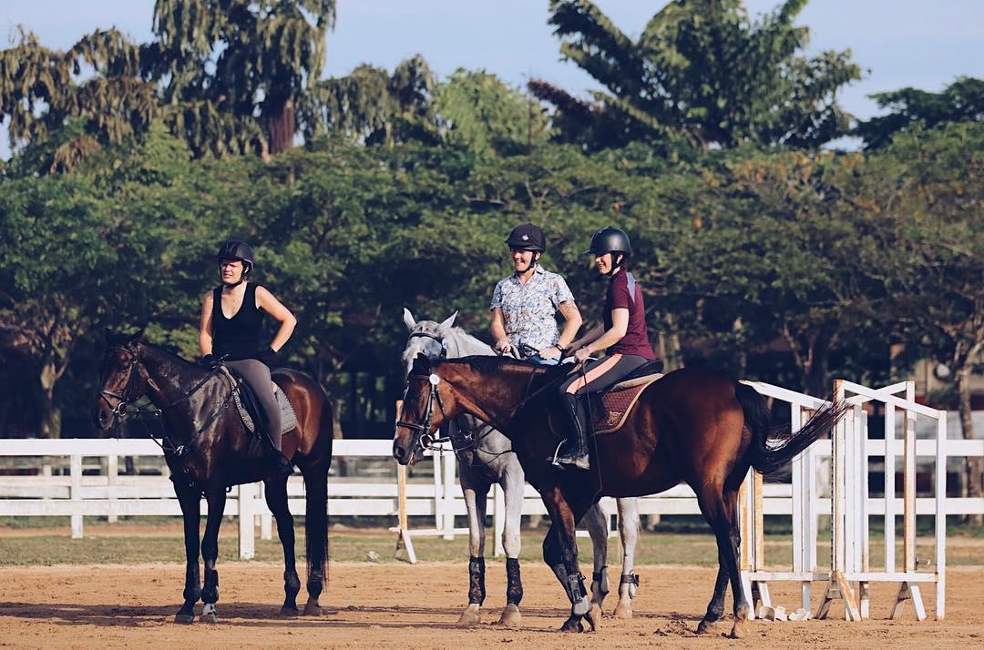 team bonding johor bahru horse riding