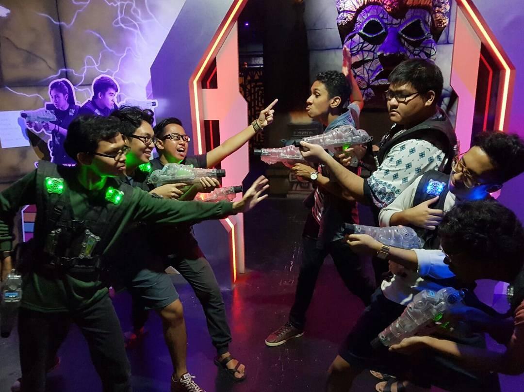 team bonding johor bahru laser battle