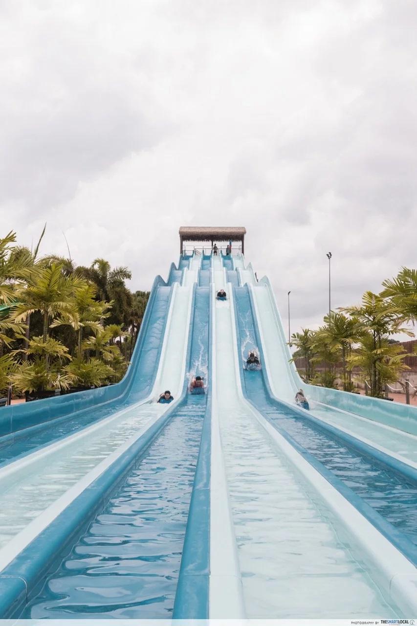 team bonding johor bahru water slide