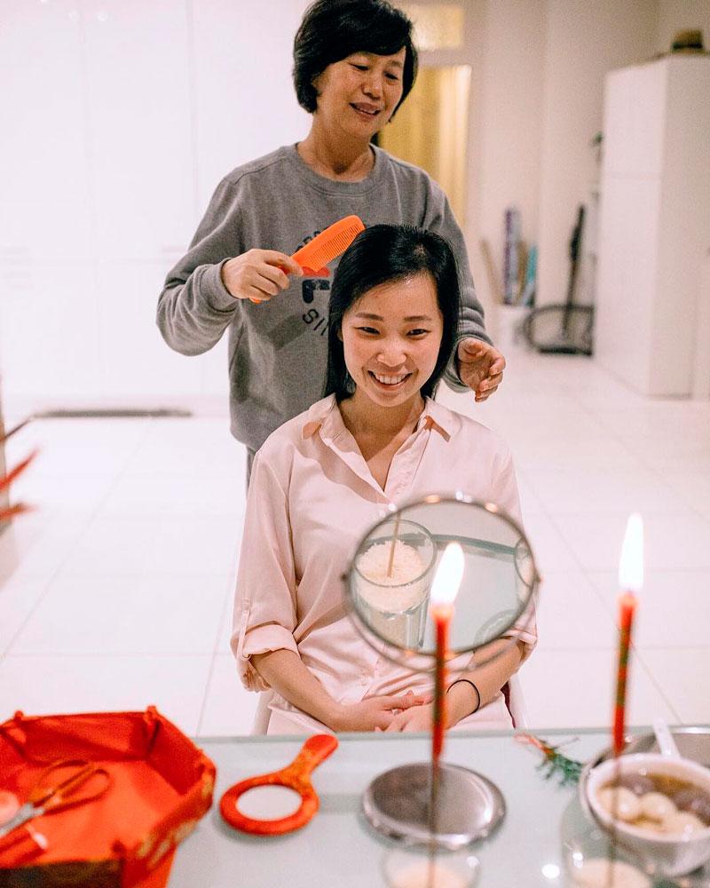 hair combing ceremony
