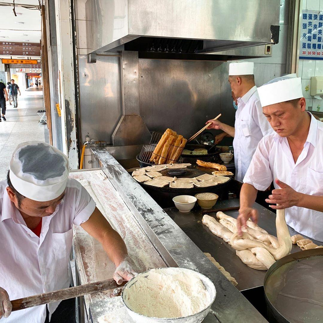 Muslim-Friendly Food Taipei you tiao