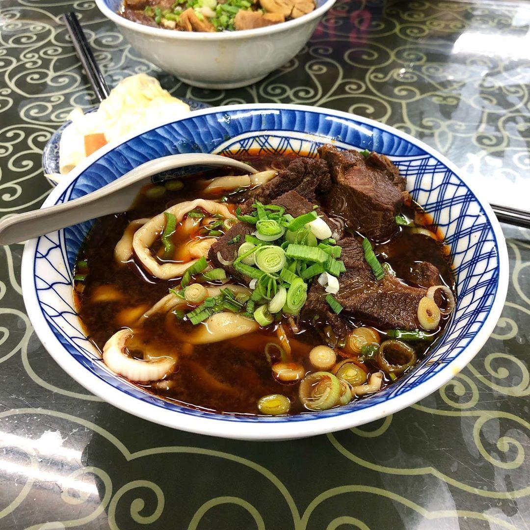 Muslim-Friendly Food Taipei beef noodles offal