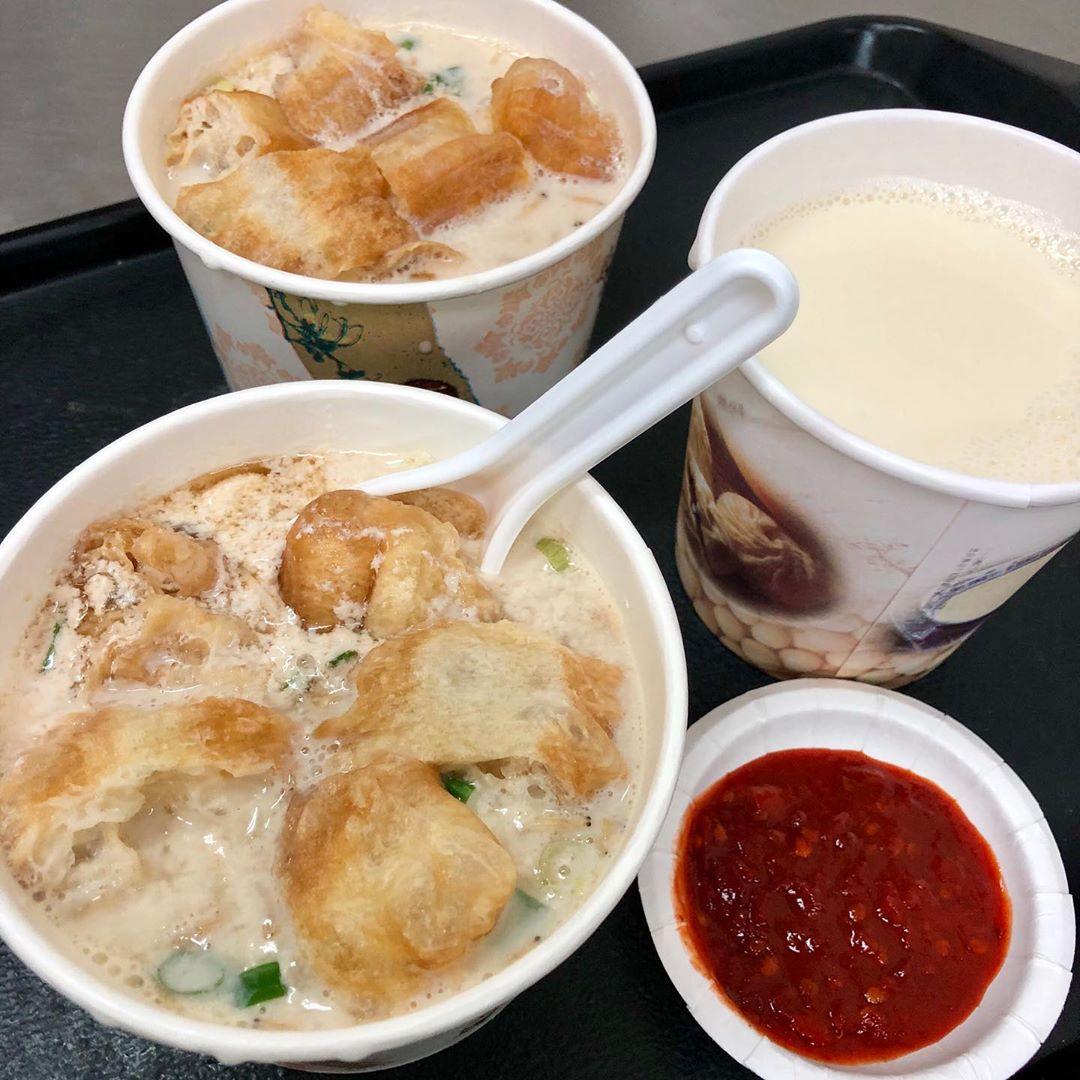 Muslim-Friendly Food Taipei yong he soy milk