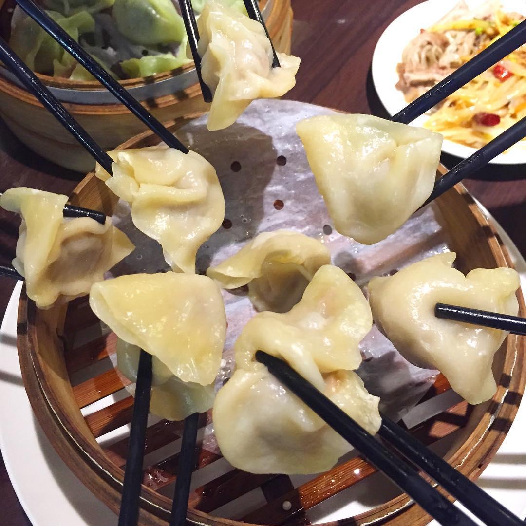 Muslim-Friendly Food Taipei dumplings